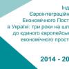 Індекс Євроінтеграційного Економічного Поступу в Україні: три роки на шляху єдиного європейського економічного простору 2014-2016