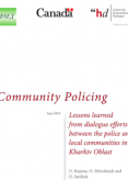 Community Policing – Lessons learned from dialogue efforts between the police and local communities in Kharkiv Oblast